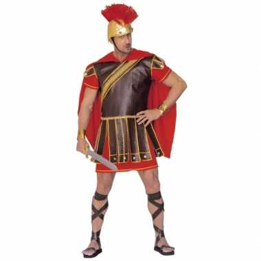 Gladiator verkleedkleding rood bruin heren