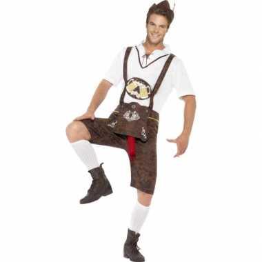 Grappig bierfeest worst verkleedkleding