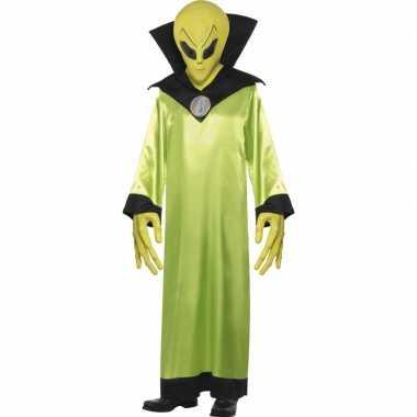 Groen alien verkleedkleding volwassenen