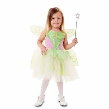 Groene fee verkleedkleding voor meisjes