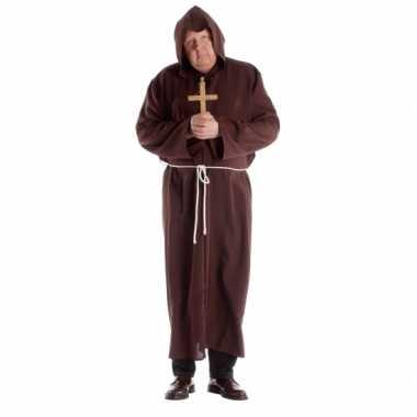 Grote maat klooster verkleedkleding voor volwassenen