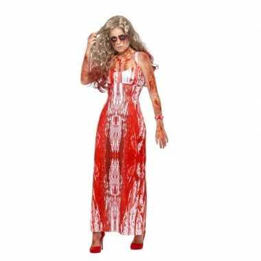 Halloween carrie verkleedkleding voor dames