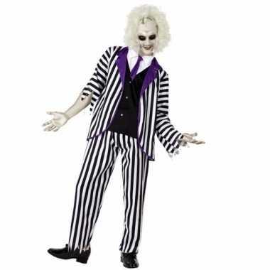 Halloween gestoorde man verkleedkleding voor heren