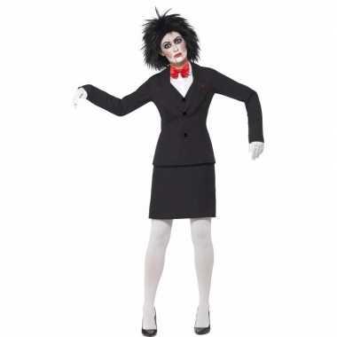 Halloween saw jigsaw dames verkleedkleding