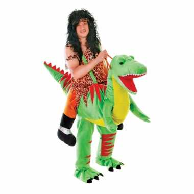 Hang verkleedkleding dinosaurus voor volwassenen
