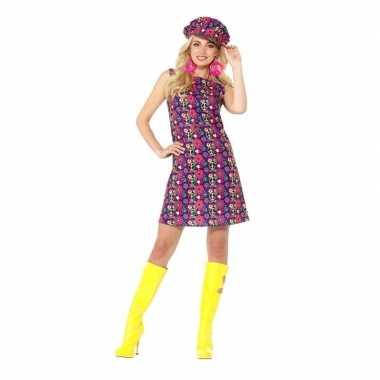 Hippie peace sixties verkleedkleding voor dames