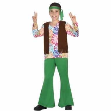 Hippie verkleedkleding voor kinderen