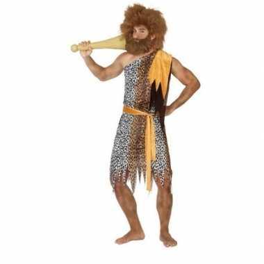 Holbewoner/caveman alley verkleed verkleedkleding heren