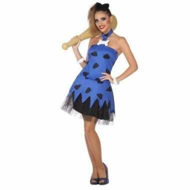 abade895ff8ddb Holbewoonster cavewoman betty verkleed verkleedkleding jurk voor dame