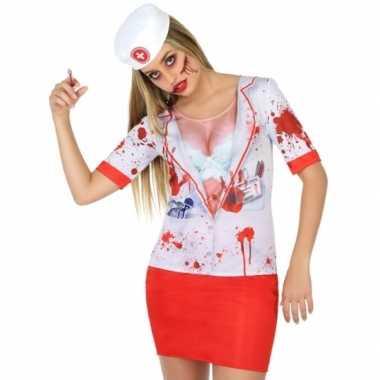 Horror zuster verkleedkleding voor dames