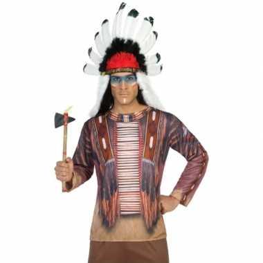Indiaan verkleedkleding voor heren