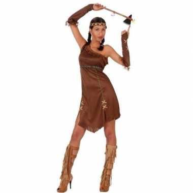Indianen honovi verkleed pak/verkleedkleding voor dames