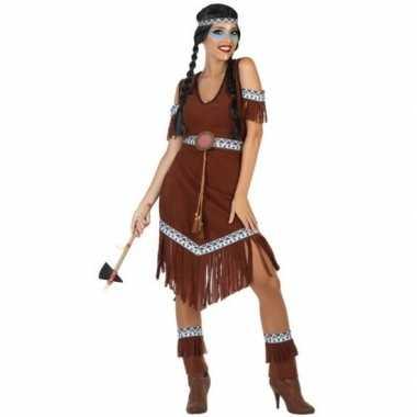 Indianen nahele verkleed pak/verkleedkleding voor dames