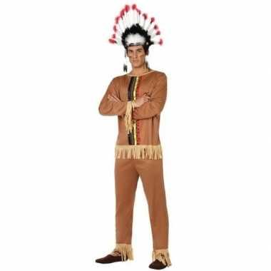 Indianen pallaton verkleed pak/verkleedkleding voor heren