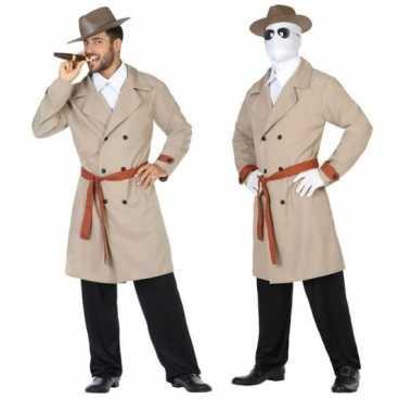 Invisible man/detective verkleed pak/verkleedkleding voor heren