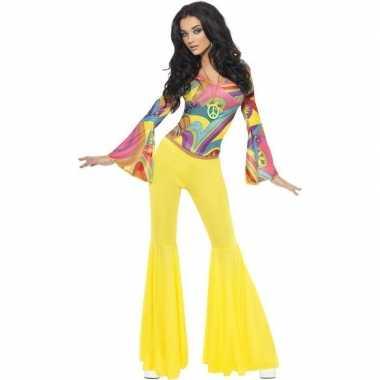 Jaren 60/70/hippie verkleedkleding voor dames