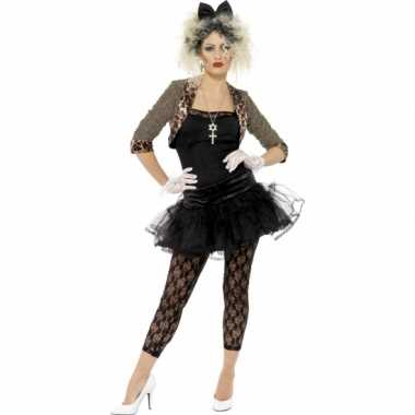 Jaren 80 verkleedkleding met petticoat