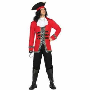 Kapitein piraat james verkleed pak/verkleedkleding voor heren