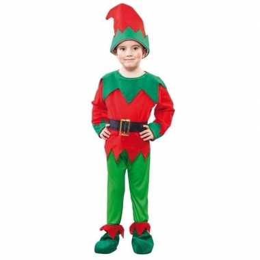 Kerst elf verkleedkleding voor een kind