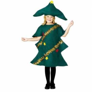 Kerstboom verkleedkleding voor kinderen