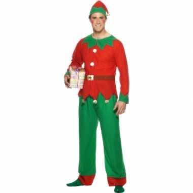 Kerstelf verkleedkleding voor mannen