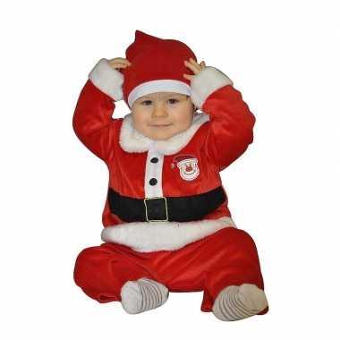Kerstman verkleedkleding voor babies 1 2 jaar