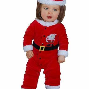 Kerstman verkleedkleding voor babies