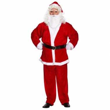 Kerstman verkleedkleding voor heren xxl