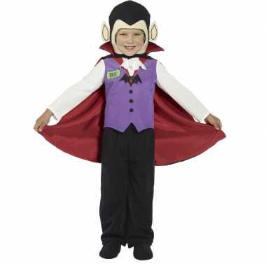 Kids vampier verkleedkleding met cape