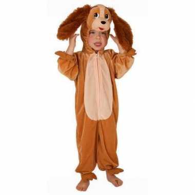 Kinder pluche honden verkleedkleding