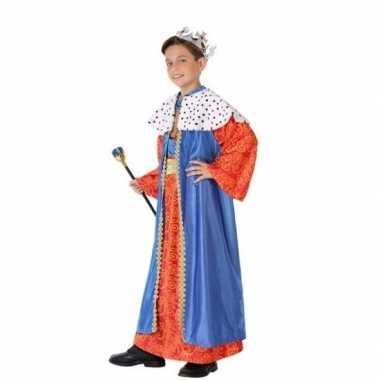Kinder verkleedkleding wijzen uit het oosten blauw