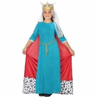 Koninginnen verkleedkleding voor kinderen