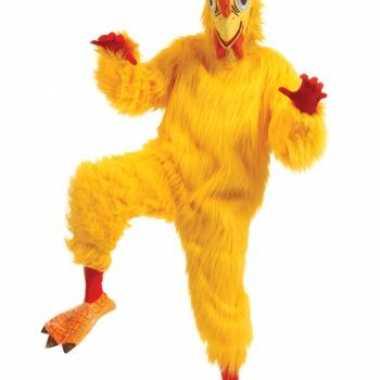 Luxe dieren verkleedkleding kip