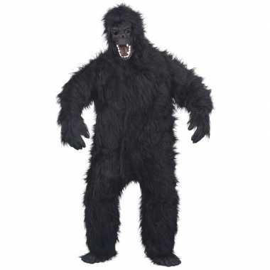 Luxe gorilla pak/verkleedkleding voor volwassenen