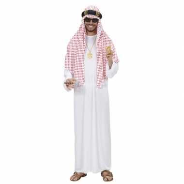 Luxe sjeik verkleedkleding voor heren