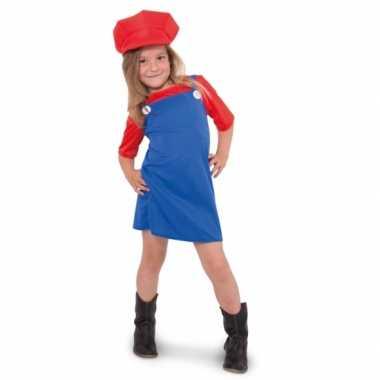 Mario meisjes verkleedkleding