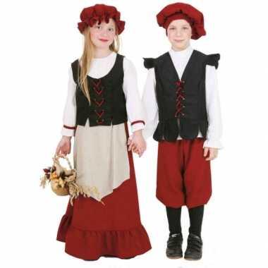 Middeleeuws meisjes verkleedkleding