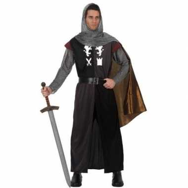 Middeleeuws ridder verkleed verkleedkleding voor heren
