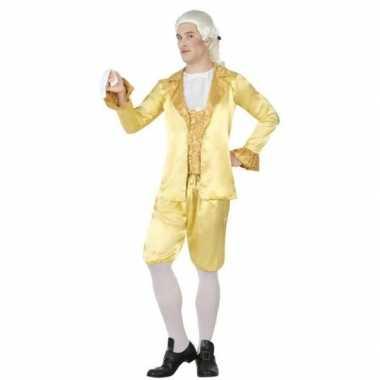 Middeleeuwse lakei verkleed verkleedkleding voor heren