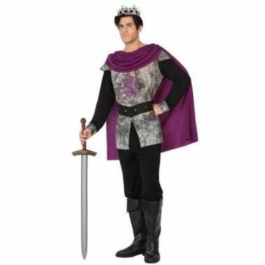 Middeleeuwse ridder/koning verkleed verkleedkleding voor heren