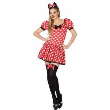 Muis/mouse verkleed verkleedkleding/jurk voor dames