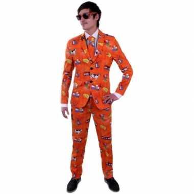 Nederland verkleedkleding pak voor heren