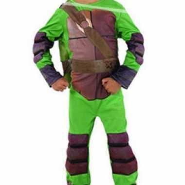 Ninja turtle verkleedkleding voor jongens