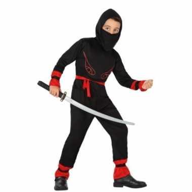 Ninja verkleedkleding jongens