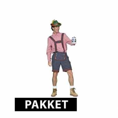 Oktoberfest verkleedkleding voor heren maat l