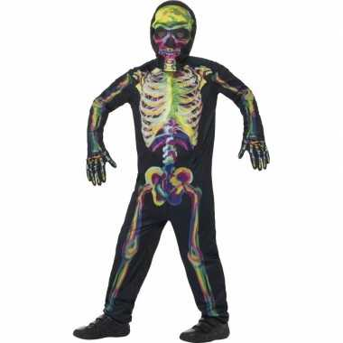 Halloween Verkleedkleding Kind.Oplichtende Skelet Verkleedkleding Voor Kinderen