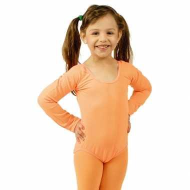 Oranje kinder ballet verkleedkleding