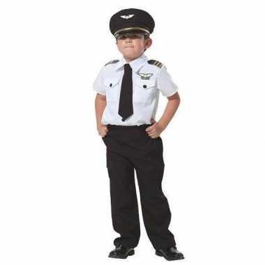 Piloot verkleed verkleedkleding voor jongens