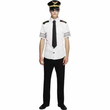 Piloten verkleedkleding heren