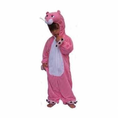 Pink panter verkleedkleding kinderen